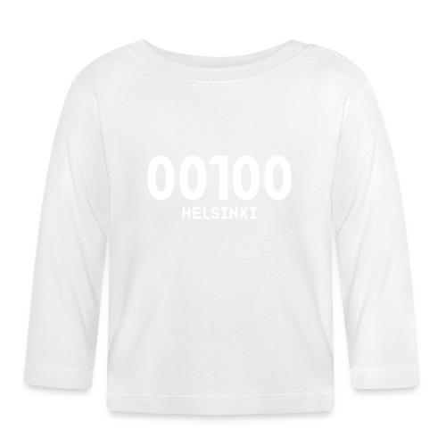 00100 HELSINKI - Vauvan pitkähihainen paita