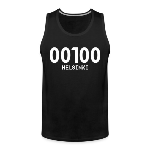 00100 HELSINKI - Miesten premium hihaton paita