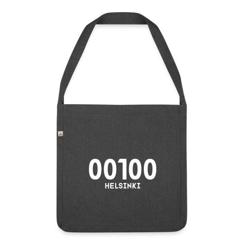 00100 HELSINKI - Olkalaukku kierrätysmateriaalista