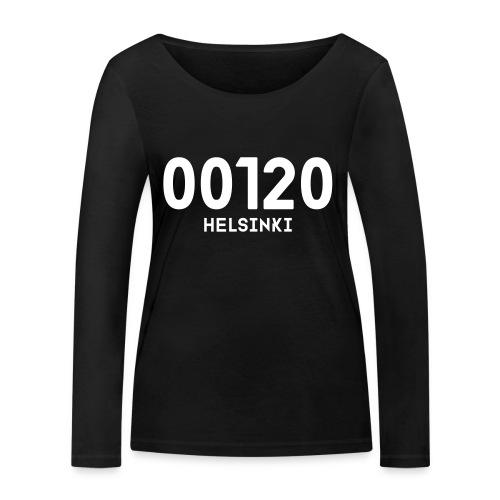 00120 HELSINKI - Stanley & Stellan naisten pitkähihainen luomupaita