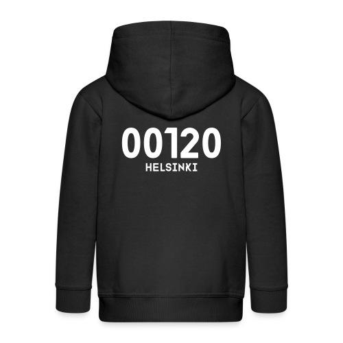 00120 HELSINKI - Lasten premium hupparitakki