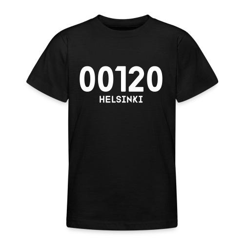 00120 HELSINKI - Nuorten t-paita