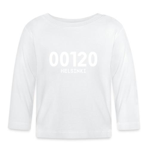 00120 HELSINKI - Vauvan pitkähihainen paita