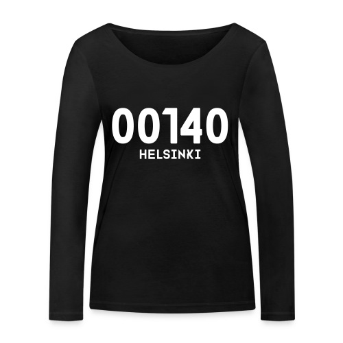 00140 HELSINKI - Stanley & Stellan naisten pitkähihainen luomupaita