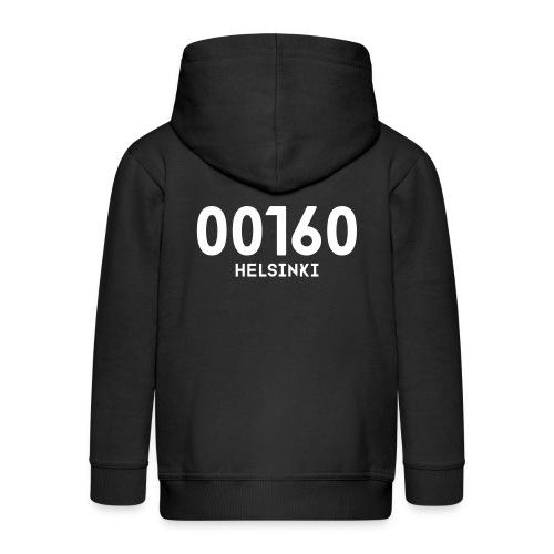 00160 HELSINKI - Lasten premium hupparitakki