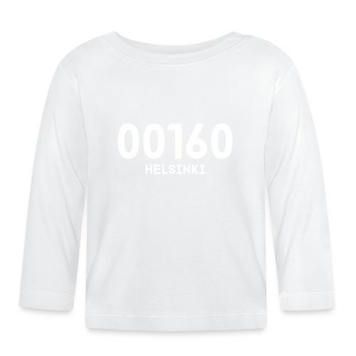 00160 HELSINKI - Vauvan pitkähihainen paita