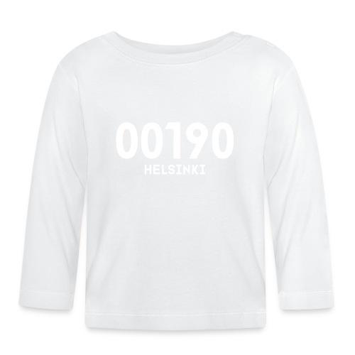 00190 HELSINKI - Vauvan pitkähihainen paita