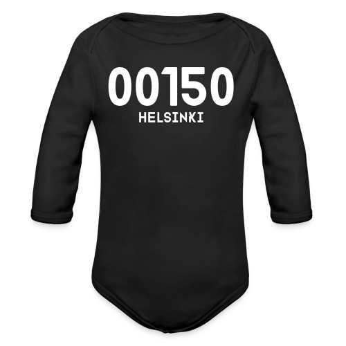 00150 HELSINKI - Vauvan pitkähihainen luomu-body