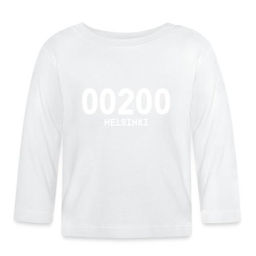 00200 HELSINKI - Vauvan pitkähihainen paita