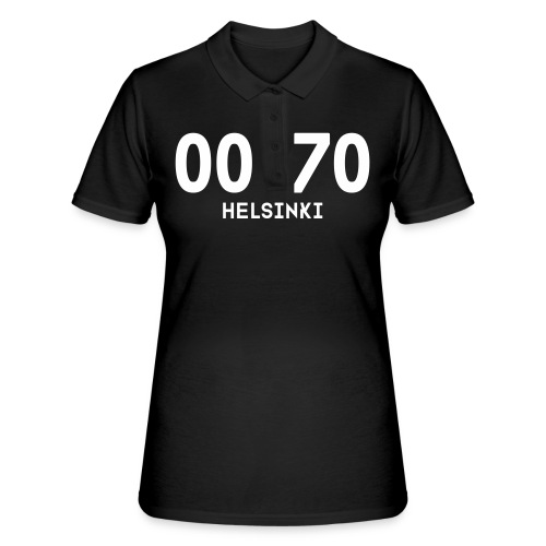 00170 HELSINKI - Women's Polo Shirt
