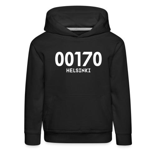00170 HELSINKI - Lasten premium huppari