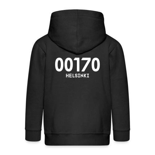 00170 HELSINKI - Lasten premium hupparitakki