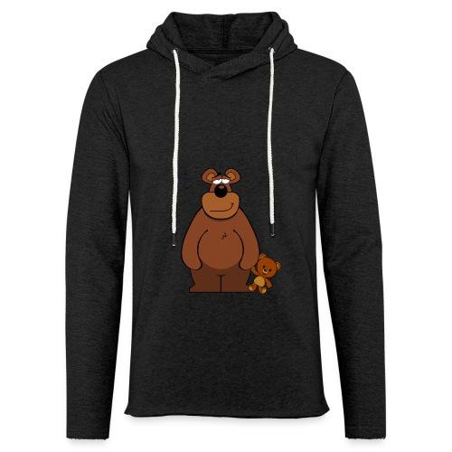 Nounours - Sweat-shirt à capuche léger unisexe