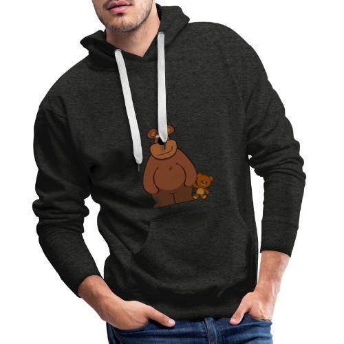 Nounours - Sweat-shirt à capuche Premium pour hommes