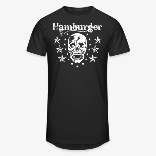 Hamburger - Männer Urban Longshirt