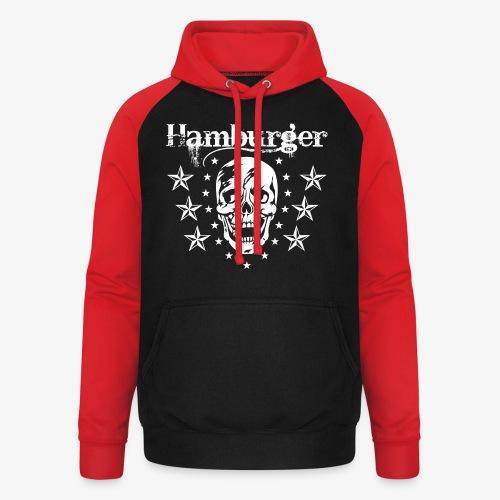 Hamburger - Unisex Baseball Hoodie