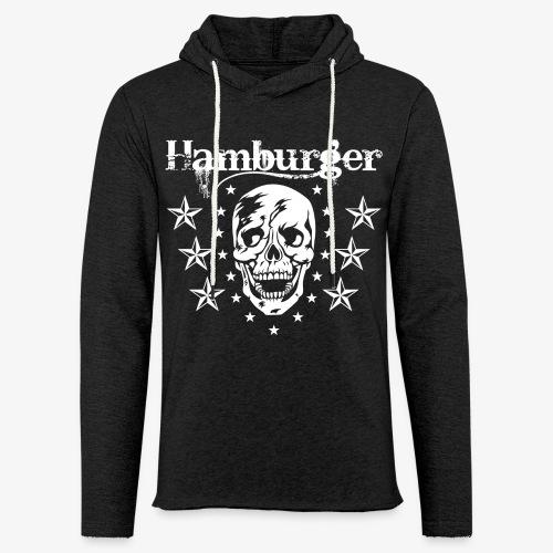 Hamburger - Leichtes Kapuzensweatshirt Unisex