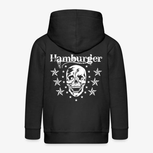 Hamburger - Kinder Premium Kapuzenjacke