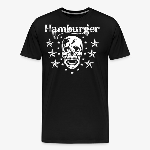 Hamburger - Männer Premium T-Shirt