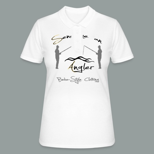 Send me an Angler T-Shirts - Frauen Polo Shirt