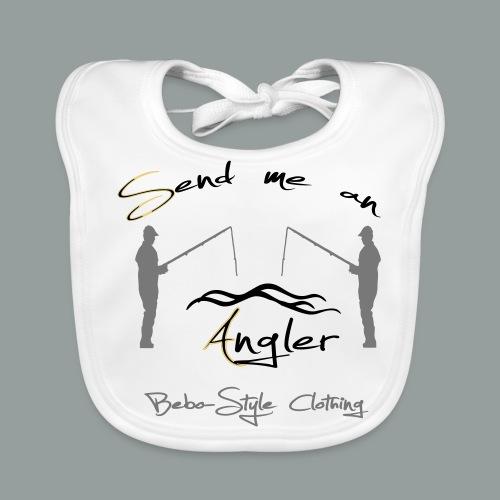 Send me an Angler T-Shirts - Baby Bio-Lätzchen