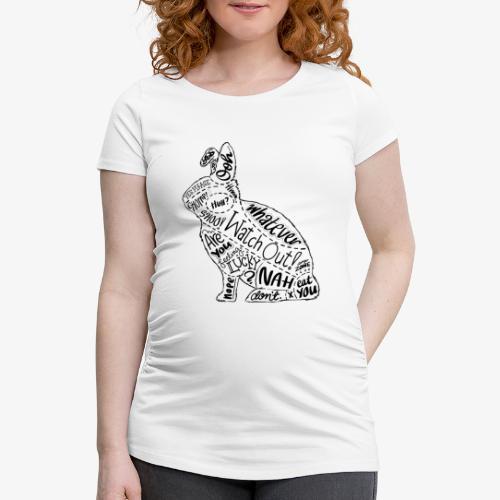 Naisten äitiys-t-paita