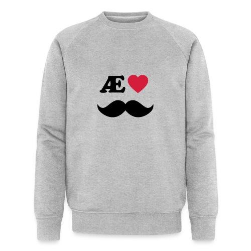 Æ elske han - Økologisk sweatshirt for menn fra Stanley & Stella