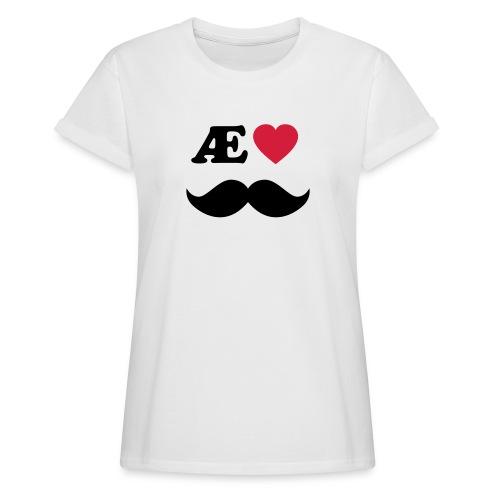 Æ elske han - Oversize T-skjorte for kvinner