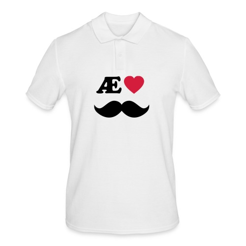 Æ elske han - Poloskjorte for menn