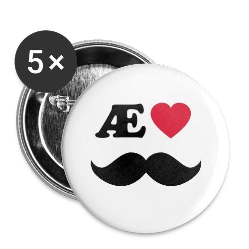 Æ elske han - Liten pin 25 mm (5-er pakke)
