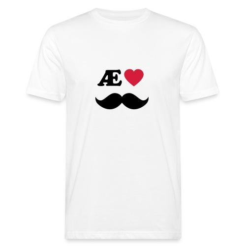Æ elske han - Økologisk T-skjorte for menn