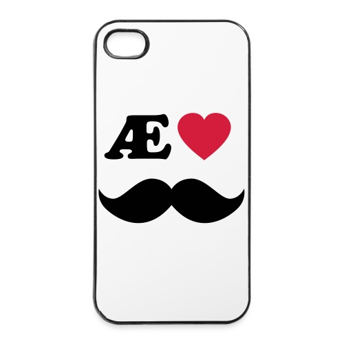 Æ elske han - iPhone 4/4s hard case