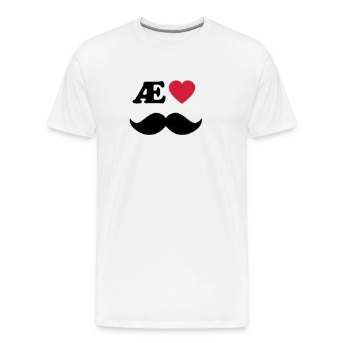 Æ elske han - Premium T-skjorte for menn