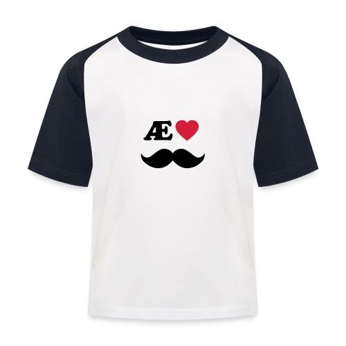 Æ elske han - Baseball-T-skjorte for barn