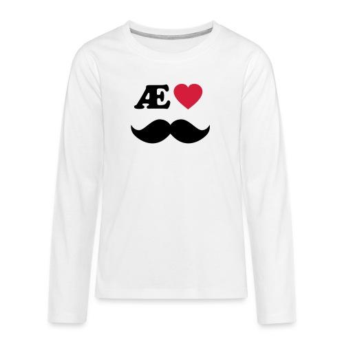 Æ elske han - Premium langermet T-skjorte for tenåringer