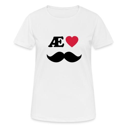 Æ elske han - Pustende T-skjorte for kvinner
