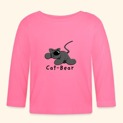 Cat-Bear - Der Katzenbär - Baby Langarmshirt