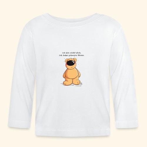 Ich bin nicht dick - Baby Langarmshirt