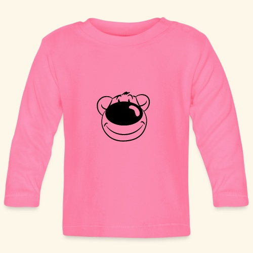 Bär lächelt - Baby Langarmshirt