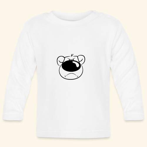 Bär ist sauer - Baby Langarmshirt