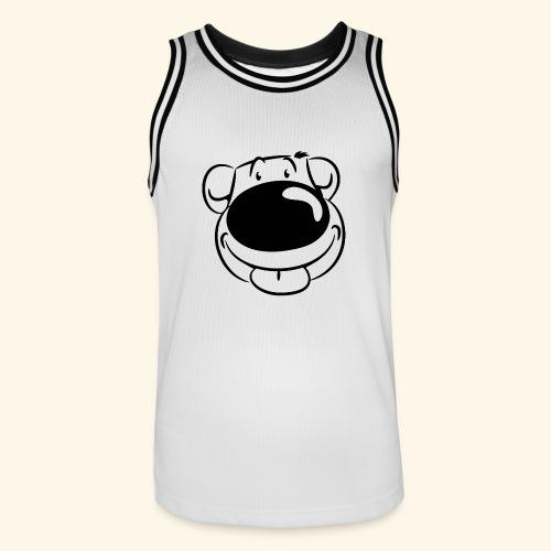 Bär macht Ätsch! - Männer Basketball-Trikot