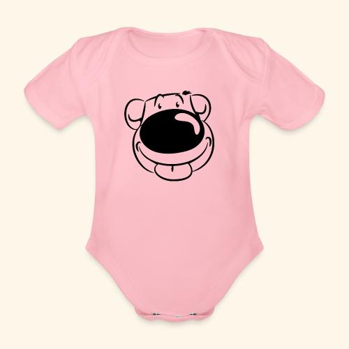 Bär macht Ätsch! - Baby Bio-Kurzarm-Body