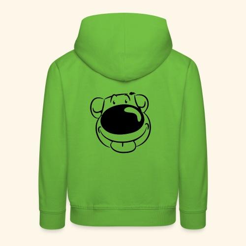 Bär macht Ätsch! - Kinder Premium Hoodie