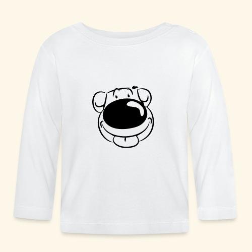 Bär macht Ätsch! - Baby Langarmshirt
