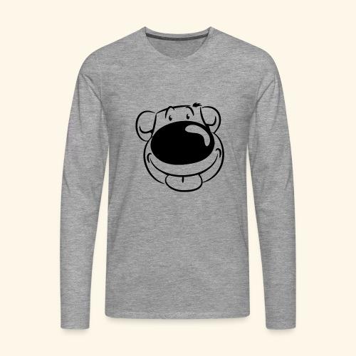 Bär macht Ätsch! - Männer Premium Langarmshirt