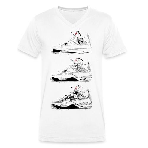 AJIV Destrukt - T-shirt bio col V Stanley & Stella Homme