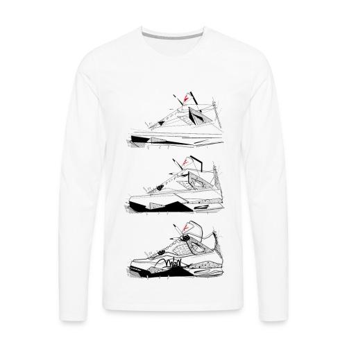 AJIV Destrukt - T-shirt manches longues Premium Homme