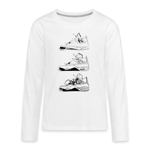 AJIV Destrukt - T-shirt manches longues Premium Ado