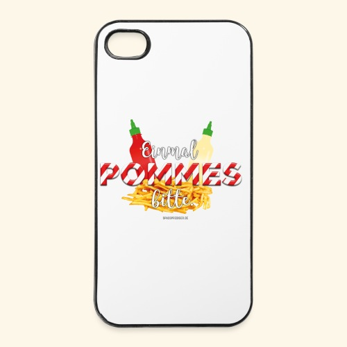 Pommes Schranke T-Shirt - iPhone 4/4s Hard Case