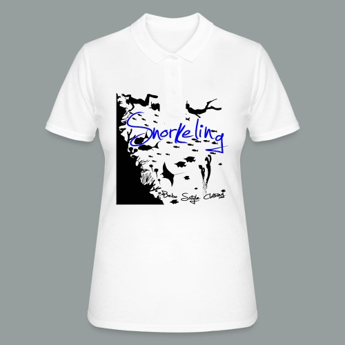 Snorkeling - Frauen Polo Shirt